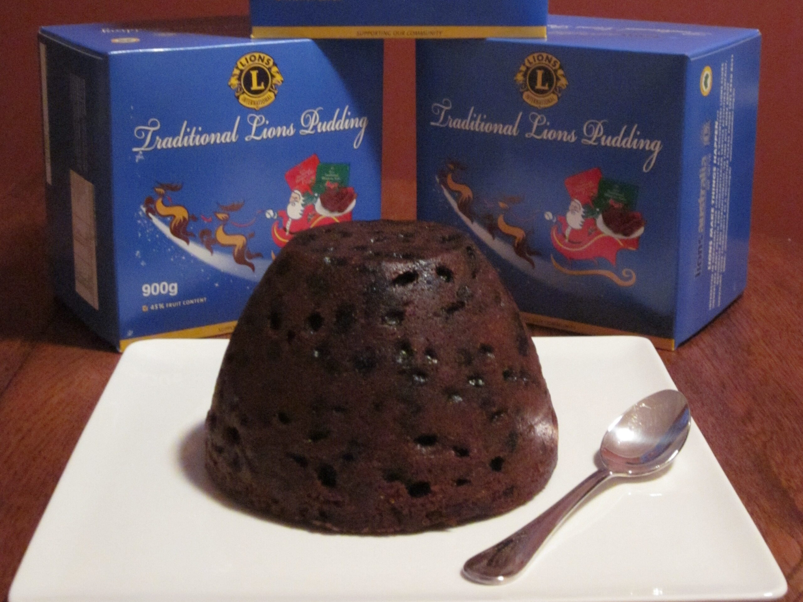 Lions Christmas Puddings Just Heat and Serve